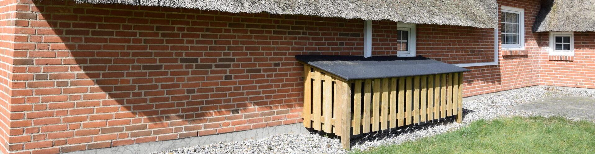 Poolsommerhus med luft/luft og luft/vand varmepumper