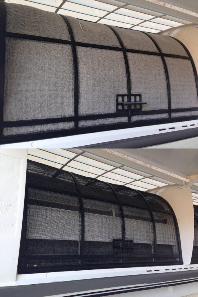 rengøring af filter, Luft/luft varmepumpe